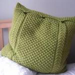 Large Lime Green Pillow / Cushion C..